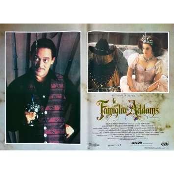 ADDAMS FAMILY Original Lobby Card N1 - 18x26 in. - 1991 - Barry Sonnenfeld, Raul Julia