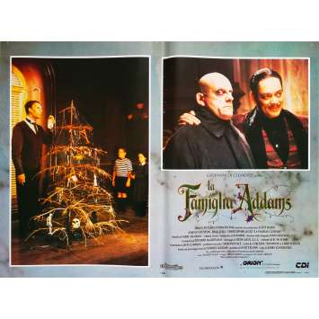 LA FAMILLE ADDAMS Photo de film N3 - 46x64 cm. - 1991 - Raul Julia, Barry Sonnenfeld