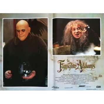 ADDAMS FAMILY Original Lobby Card N4 - 18x26 in. - 1991 - Barry Sonnenfeld, Raul Julia