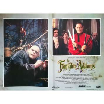 LA FAMILLE ADDAMS Photo de film N8 - 46x64 cm. - 1991 - Raul Julia, Barry Sonnenfeld