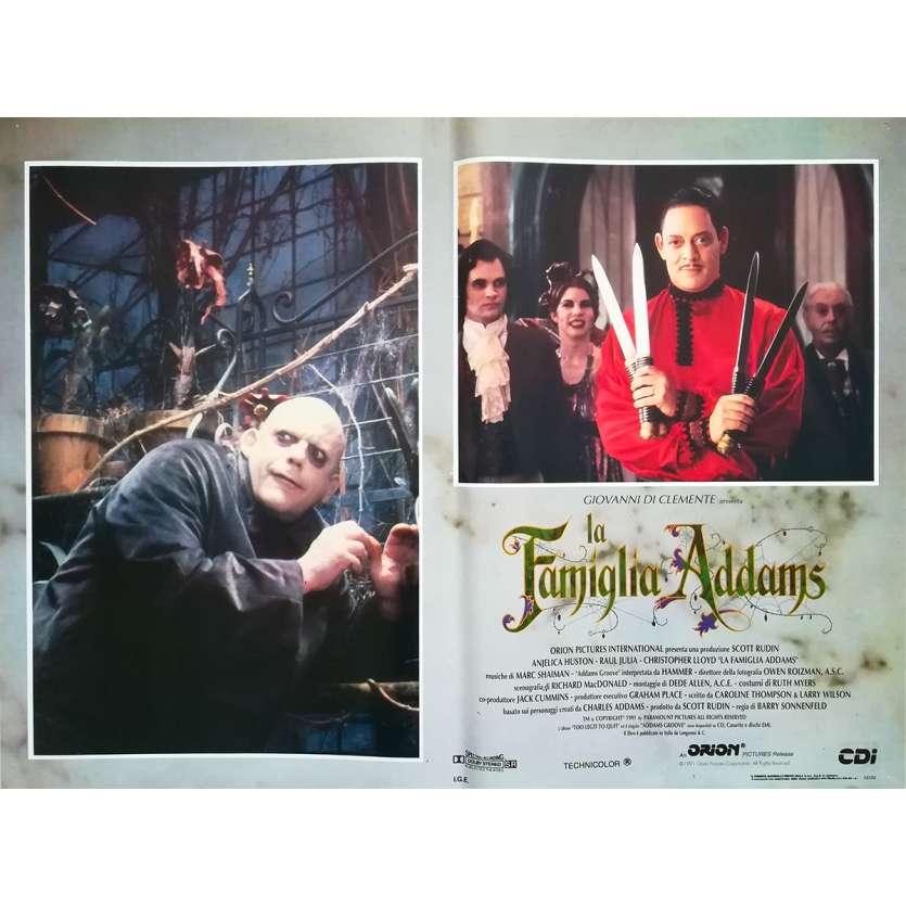 LA FAMILLE ADDAMS Photo de film N8 - 46x64 cm. - 1991 - Raul Julia, Barry Sonnenfeld