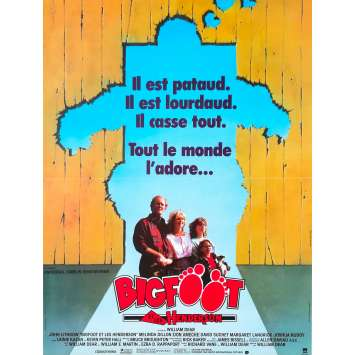 BIGFOOT ET LES HENDERSON Affiche de film - 40x60 cm. - 1987 - John Lithgow, William Dear