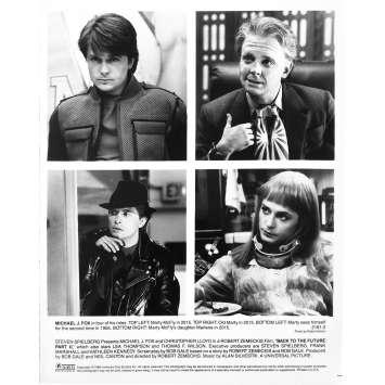 RETOUR VERS LE FUTUR 2 Photo de presse 2191-2 - 20x25 cm. - 1989 - Michael J. Fox, Robert Zemeckis
