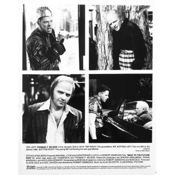 RETOUR VERS LE FUTUR 2 Photo de presse 2191-6 - 20x25 cm. - 1989 - Michael J. Fox, Robert Zemeckis