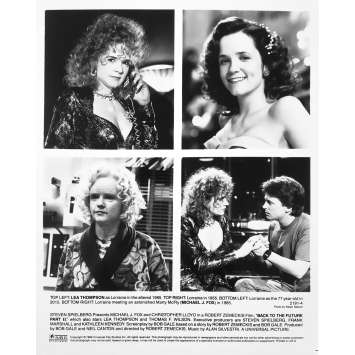 RETOUR VERS LE FUTUR 2 Photo de presse 2191-4 - 20x25 cm. - 1989 - Michael J. Fox, Robert Zemeckis