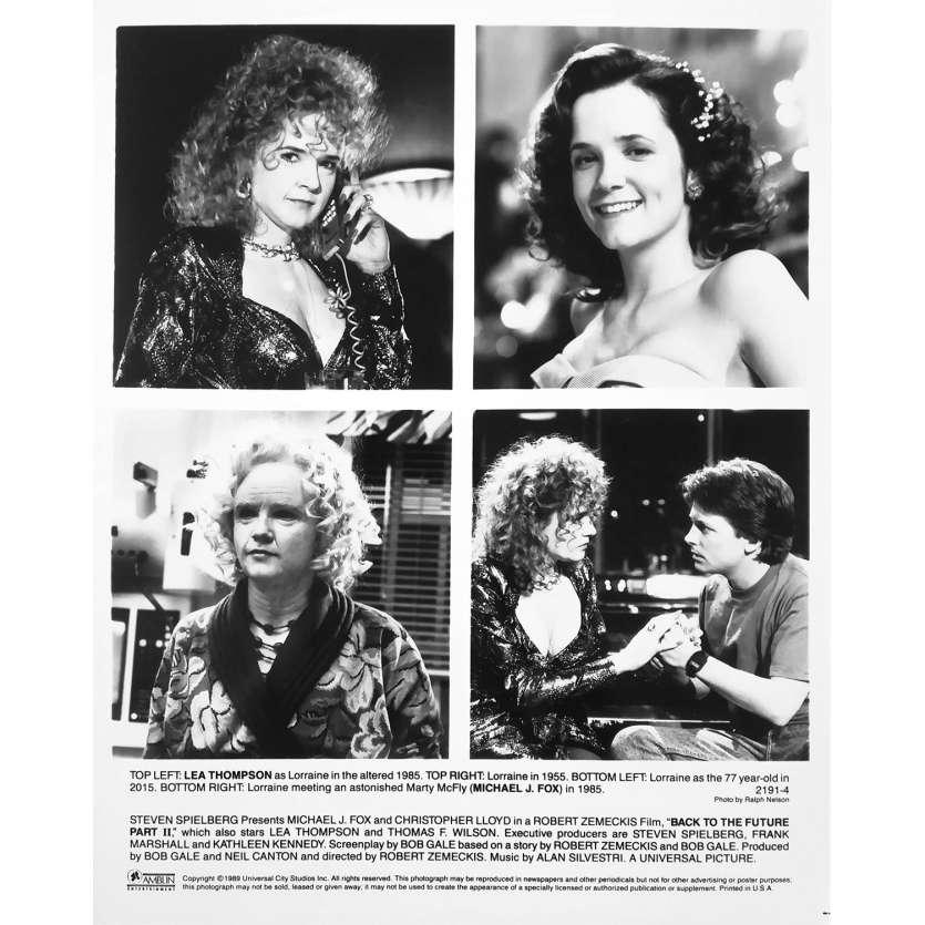 BACK TO THE FUTURE II Original Movie Still 2191-4 - 8x10 in. - 1989 - Robert Zemeckis, Michael J. Fox