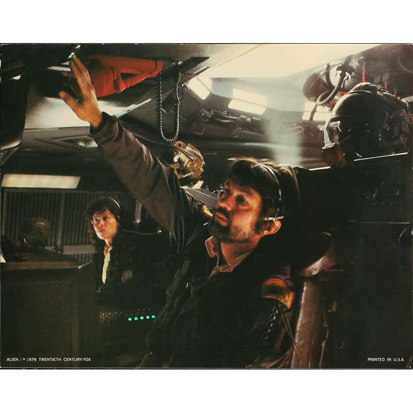 ALIEN Photo de film N8-No Slug - 28x36 cm. - 1979 - Sigourney Weaver, Ridley Scott