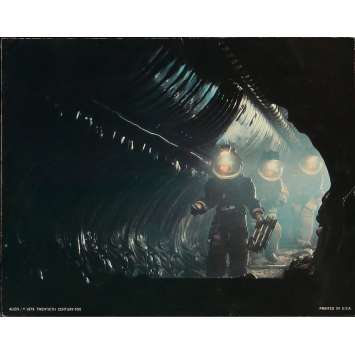 ALIEN Original Lobby Card N3-No Slug - 11x14 in. - 1979 - Ridley Scott, Sigourney Weaver