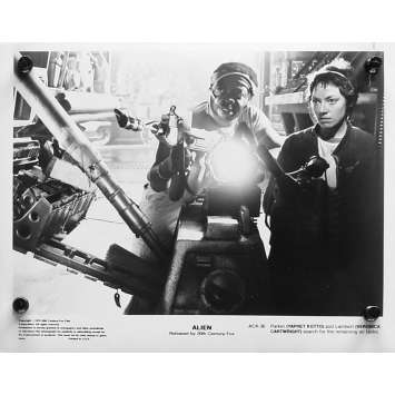 ALIEN Photo de presse ACK-36 - 20x25 cm. - 1979 - Sigourney Weaver, Ridley Scott