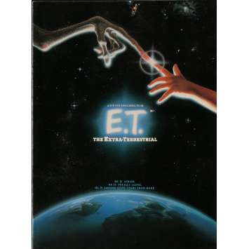 E.T. THE EXTRA-TERRESTRIAL Original Program - 9x12 in. - 1982 - Steven Spielberg, Dee Wallace