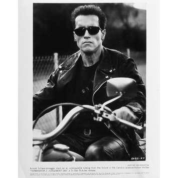 TERMINATOR 2 Photo de presse N24 - 20x25 cm. - 1992 - Arnold Schwarzenegger, James Cameron
