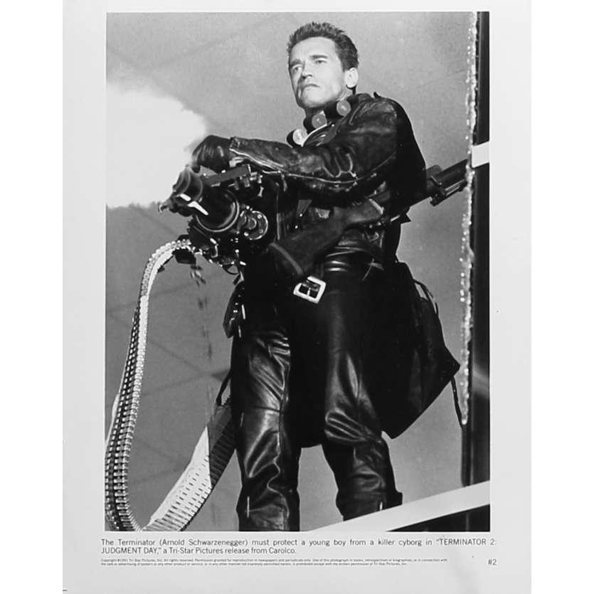 TERMINATOR 2 Original Movie Still N2 - 8x10 in. - 1992 - James Cameron, Arnold Schwarzenegger