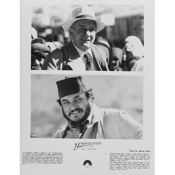 INDIANA JONES ET LA DERNIERE CROISADE Photo de presse IJ3-4 - 20x25 cm. - 1989 - Harrison Ford, Steven Spielberg