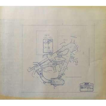 DUNE Blueprint - Arakeen No:14/2 - 45x55/60 cm. - 1982, David Lynch