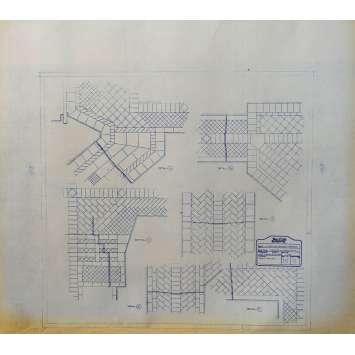 DUNE Blueprint - Arakeen No:15/11 - 45x55/60 cm. - 1982, David Lynch