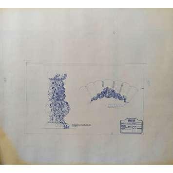 DUNE Blueprint - Arakeen No:15/15 - 45x55/60 cm. - 1982, David Lynch