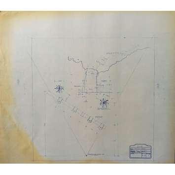 DUNE Original Blueprint - Arakeen No:Ext/M18/1 - 21x24-26 in. - 1982, David Lynch
