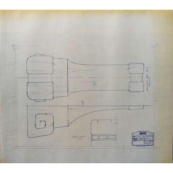 DUNE Blueprint - Caladan No:Ext33/2 - 45x55/60 cm. - 1982, David Lynch