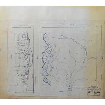 DUNE Original Blueprint - Sietch Tabr No:30/1 - 21x24-26 in. - 1982, David Lynch