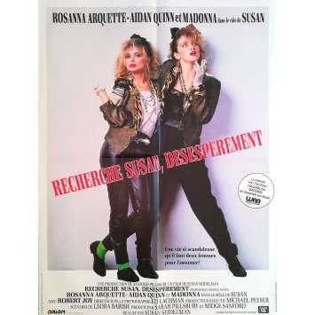 RECHERCHE SUSAN DESESPEREMENT Affiche de film - 60x80 cm. - 1985 - Madonna, Rosanna Arquette, Susan Seidelman