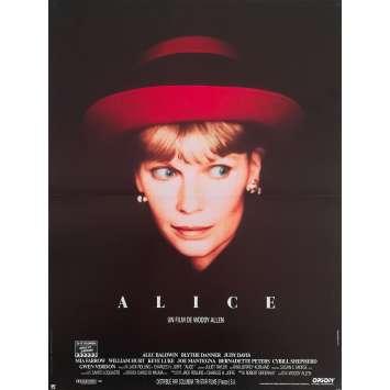 ALICE Original Movie Poster - 15x21 in. - 1990 - Woody Allen, Mia Farrow, William Hurt