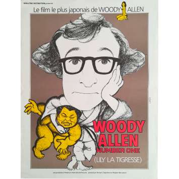 LILY LA TIGRESSE Affiche de film - 40x60 cm. - 1966 - The Lovin' Spoonful , Woody Allen