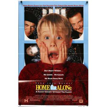 HOME ALONE Original Movie Poster - 27x40 in. - 1990 - Chris Colombus, Macaulay Culkin