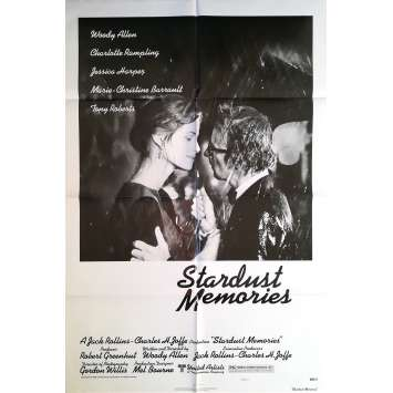 STARDUST MEMORIES Original Movie Poster Style C - 27x40 in. - 1980 - Woody Allen, Charlotte Rampling