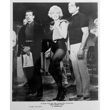 LET'S MAKE LOVE Original Movie Still N09 - 8x10 in. - R1980 - George Cukor, Marilyn Monroe, Yves Montand