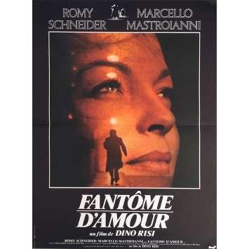 FANTOME D'AMOUR Affiche de film - 40x60 cm. - 1981 - Marcello Mastroianni, Romy Schneider, Dino Risi