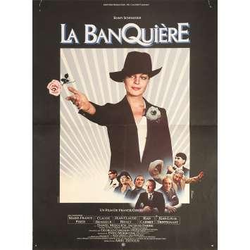 THE LADY BANKER Original Movie Poster - 15x21 in. - 1980 - Francis Girod, Romy Schneider