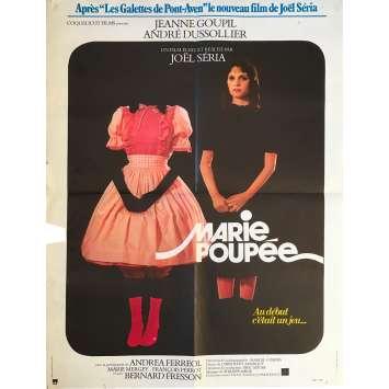 MARIE POUPEE Affiche de film - 60x80 cm. - 1976 - Jeanne Goupil, Joël Séria