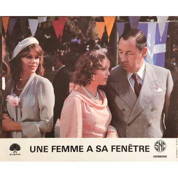A WOMAN AT HER WINDOW Original Lobby Card N01 - 10x12 in. - 1976 - Pierre Granier-Deferre, Romy Schneider