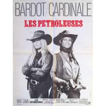 LES PETROLEUSES Affiche de film - 60x80 cm. - 1971 - Brigitte Bardot, Christian-Jaque