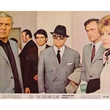 THE SICILIAN CLAN Original Lobby Card N03 - 8x10 in. - 1969 - Henri Verneuil, Lino Ventura