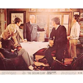 THE SICILIAN CLAN Original Lobby Card N02 - 8x10 in. - 1969 - Henri Verneuil, Lino Ventura