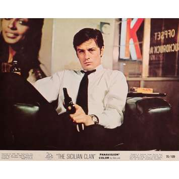THE SICILIAN CLAN Original Lobby Card N01 - 8x10 in. - 1969 - Henri Verneuil, Lino Ventura