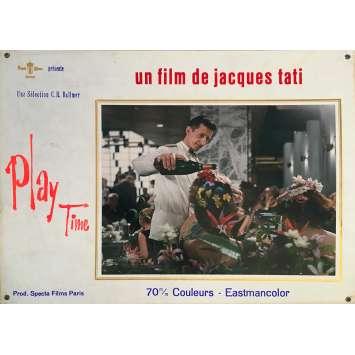 PLAYTIME Original Lobby Card N04 - 14x18 in. - 1967 - Jacques Tati, Rita Maiden