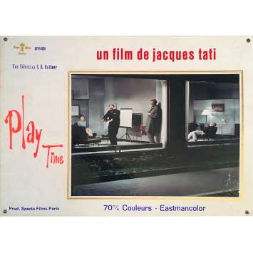 PLAYTIME Original Lobby Card N03 - 14x18 in. - 1967 - Jacques Tati, Rita Maiden