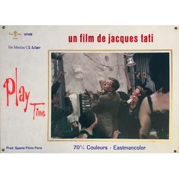 PLAYTIME Original Lobby Card N02 - 14x18 in. - 1967 - Jacques Tati, Rita Maiden