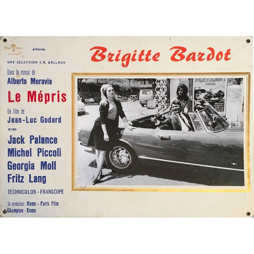 LE MEPRIS Photo de film N01 - 35x44 cm. - 1963 - Brigitte Bardot, Jean-Luc Godard
