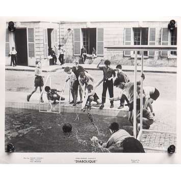 LES DIABOLIQUES Photo de presse D-28 - 20x25 cm. - 1955 - Sharon Stone, Henri-Georges Clouzot