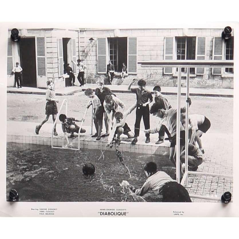 DIABOLIQUE Original Movie Still D-28 - 8x10 in. - 1955 - Henri-Georges Clouzot, Sharon Stone