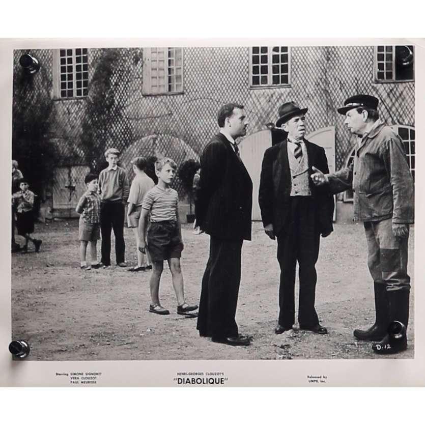 LES DIABOLIQUES Photo de presse D-12 - 20x25 cm. - 1955 - Sharon Stone, Henri-Georges Clouzot