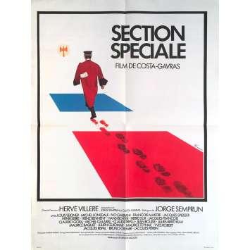 SECTION SPECIALE Affiche de film - 60x80 cm. - 1975 - Costa Gavras, Avocat