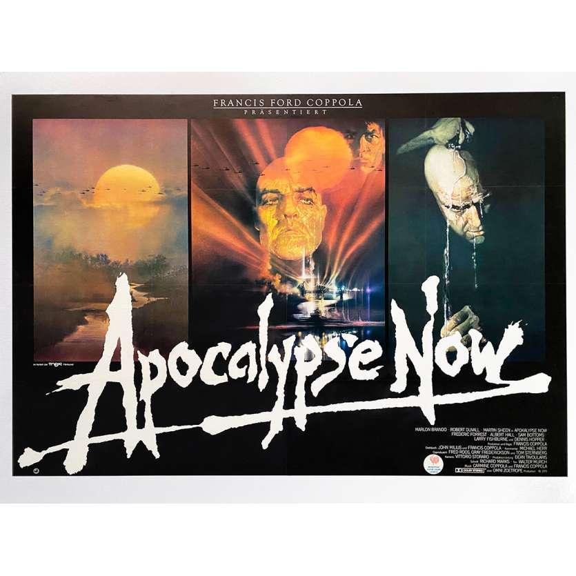 APOCALYPSE NOW Affiche de film - 168x119 cm. - 1979 - Marlon Brando, Francis Ford Coppola