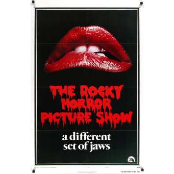 THE ROCKY HORROR PICTURE SHOW Original Movie Poster - 27x40 in. - 1975 - Jim Sharman, Tim Curry