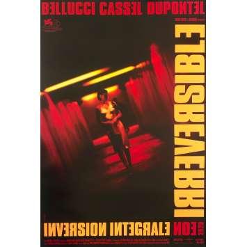 IRREVERSIBLE Affiche de film - 40x60 cm. - R2020 - Monica Bellucci, Gaspard Noe