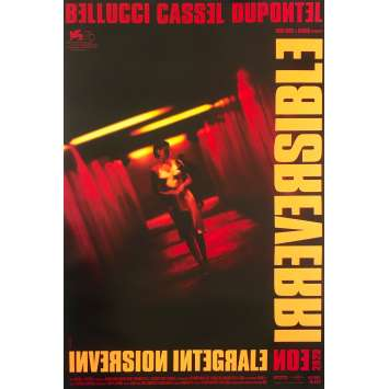 IRREVERSIBLE Original Movie Poster - 15x21 in. - R2020 - Gaspard Noe, Monica Bellucci