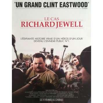 LE CAS RICHARD JEWELL Affiche de film - 40x60 cm. - 2019 - Sam Rockwell, Clint Eastwood